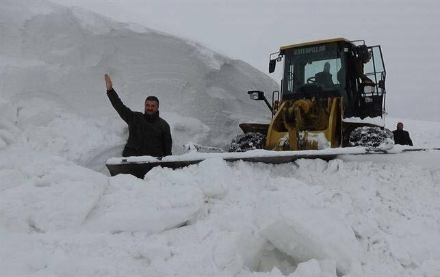 برف در ترکیه2 - تصاویر/ بارش بی سابقه برف در ترکیه