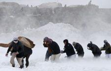 برف کوچ 226x145 - دفن شدن باشنده گان بدخشان زیر برف کوچ