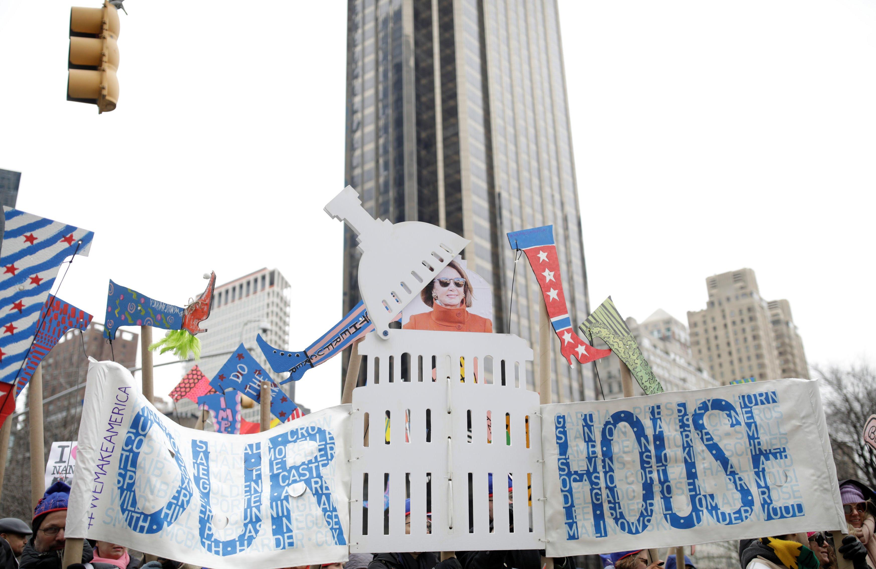 تظاهرات امریکا 2 - تصاویر/ تظاهرات صدها هزار زن امریکایی علیه ترمپ