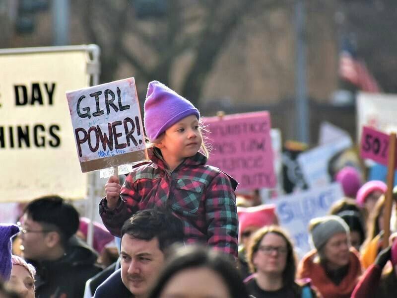 تظاهرات امریکا 3 - تصاویر/ تظاهرات صدها هزار زن امریکایی علیه ترمپ
