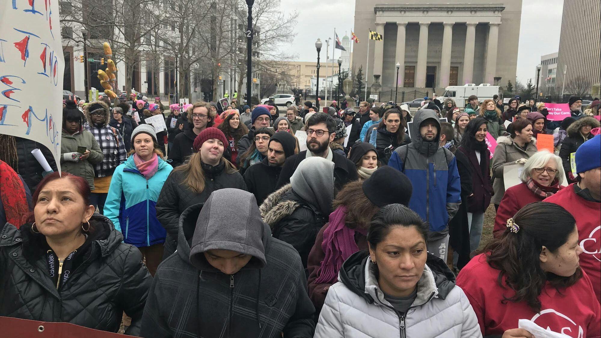تظاهرات امریکا 4 - تصاویر/ تظاهرات صدها هزار زن امریکایی علیه ترمپ