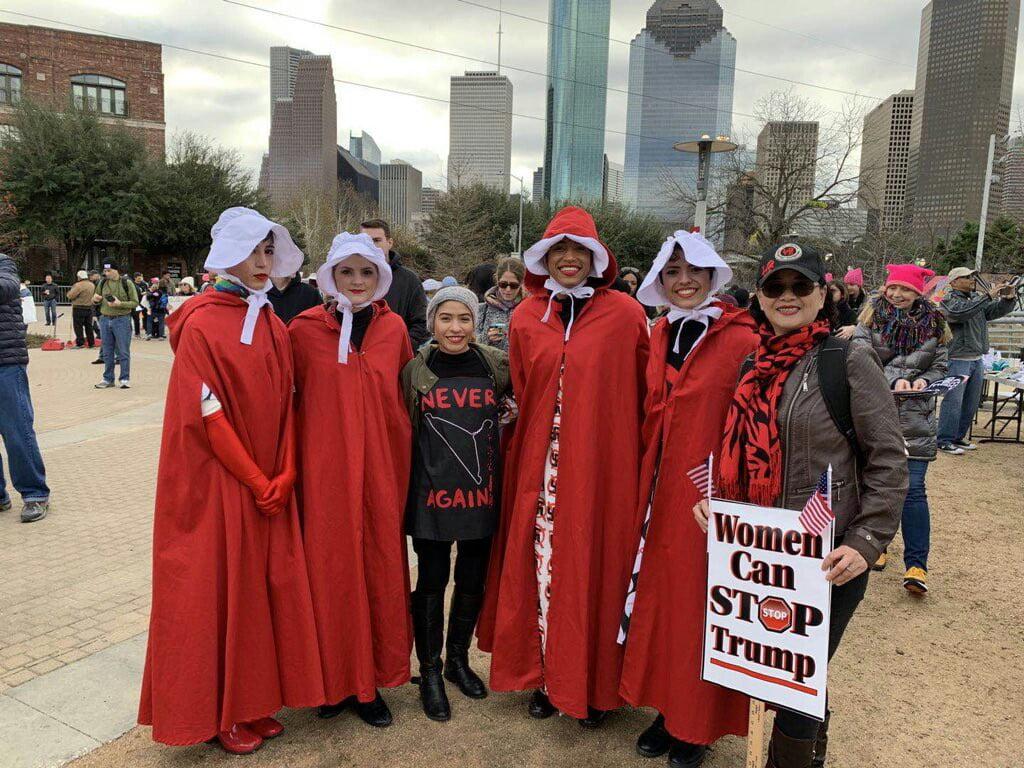 تظاهرات امریکا 7 - تصاویر/ تظاهرات صدها هزار زن امریکایی علیه ترمپ