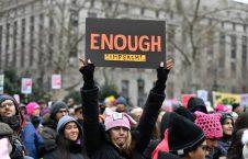 تظاهرات امریکا 9 226x145 - تصاویر/ تظاهرات صدها هزار زن امریکایی علیه ترمپ
