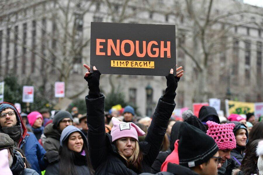 تظاهرات امریکا 9 - تصاویر/ تظاهرات صدها هزار زن امریکایی علیه ترمپ