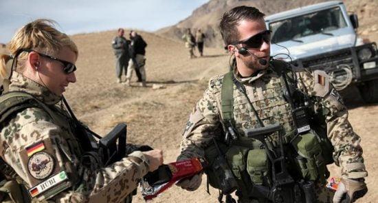 جرمنی 550x295 - تمدید یکساله مأموریت نظامی اردوی جرمنی در افغانستان