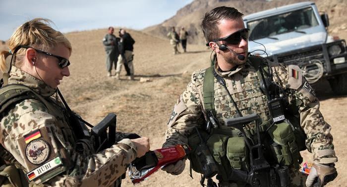 جرمنی - مردم جرمنی خواستار خروج عساکر کشورشان از افغانستان استند