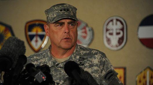 جنرال مارک میلی . 528x295 - خوشبینی جنرال امریکایی به گفتگوهای صلح با طالبان