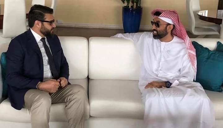 حمدالله محب 3 - دیدار های جداگانه حمدالله محب با نماینده خاص امریکا و مشاور امنیت ملی امارات