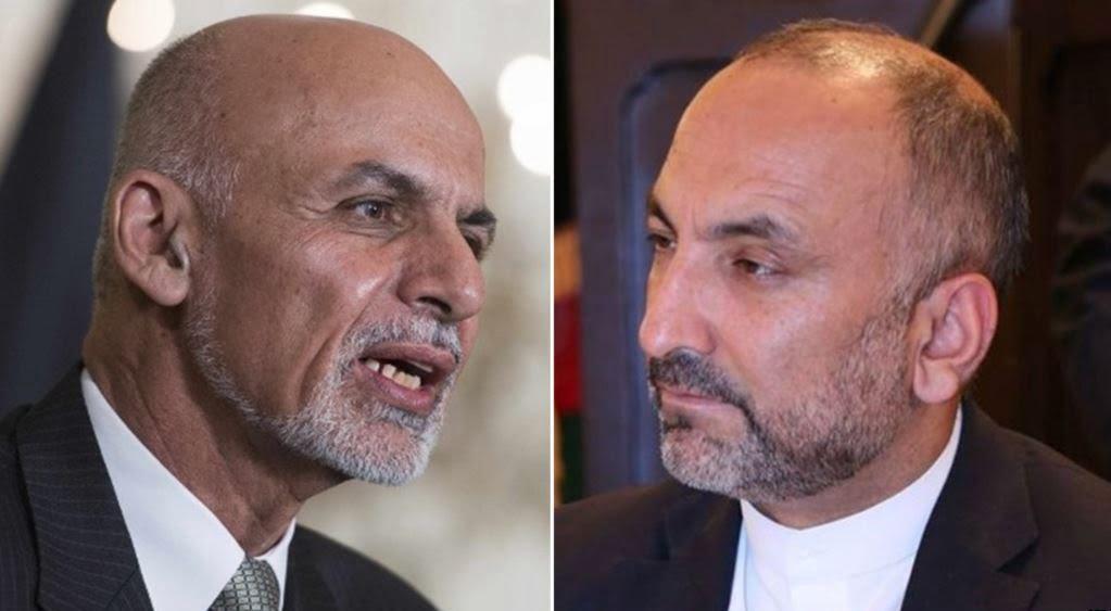 حنیف اتمر اشرف غنی - گمانهزنیها درباره تازهترین ترکیب ۲ تیم انتخاباتی تاثیرگذار در افغانستان