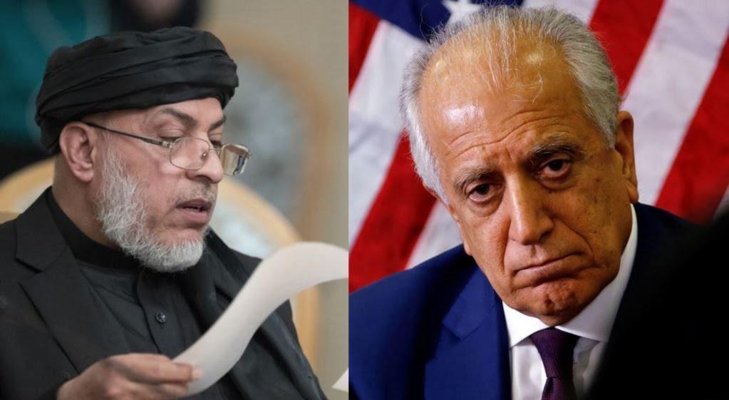 خلیلزاد طالبان - تاکید طالبان بر خروج نیروهای خارجی از افغانستان