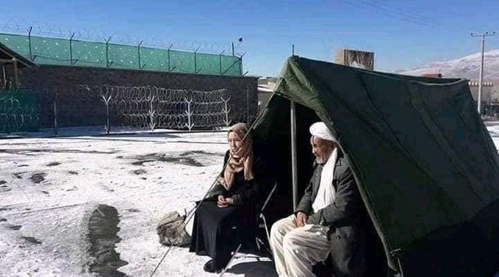خیمه تحصن - تصویر/ عدالت خواهی زیر خیمه تحصن