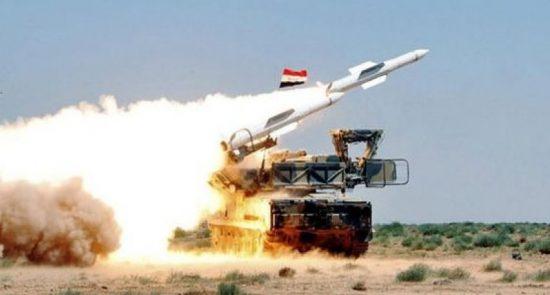 راکت سوریه 550x295 - مواضع اسراییل در تیررس راکت های استراتیژیک سوریه