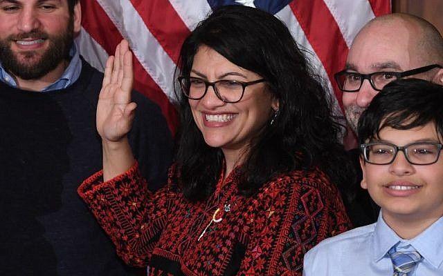 رشیده طلیب 2 - اقدام جنجالی نماینده جدید کانگرس امریکا خبر ساز شد!