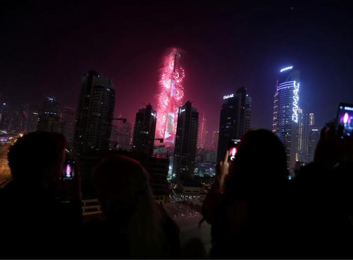 سال نوی عیسوی 10 - تصاویر/ جهان وارد سال ۲۰۱۹ عیسوی شد