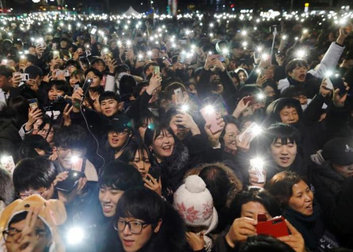 سال نوی عیسوی 12 - تصاویر/ جهان وارد سال ۲۰۱۹ عیسوی شد