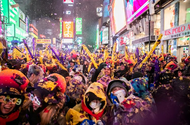 سال نوی عیسوی 15 - تصاویر/ جهان وارد سال ۲۰۱۹ عیسوی شد