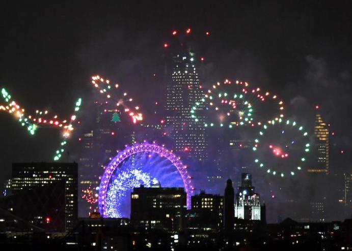 سال نوی عیسوی 3 - تصاویر/ جهان وارد سال ۲۰۱۹ عیسوی شد