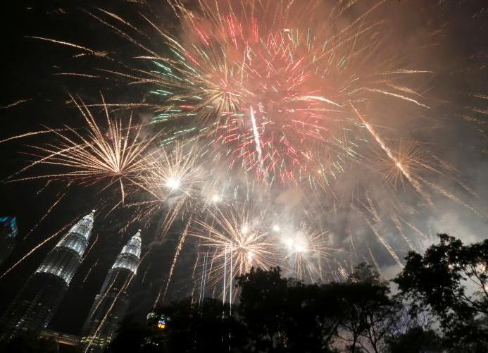 سال نوی عیسوی 5 - تصاویر/ جهان وارد سال ۲۰۱۹ عیسوی شد