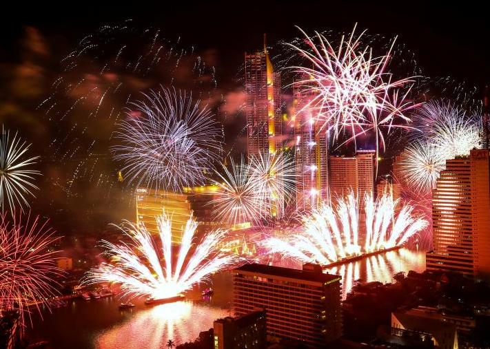 سال نوی عیسوی 7 - تصاویر/ جهان وارد سال ۲۰۱۹ عیسوی شد