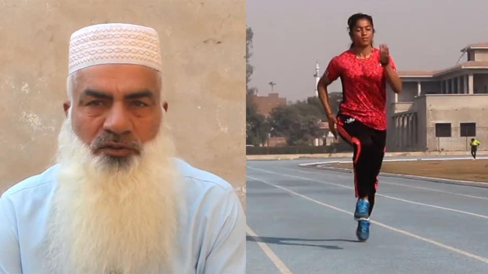 صاحب اسرا 1 - تصاویر/ سریعترین دونده پاکستان