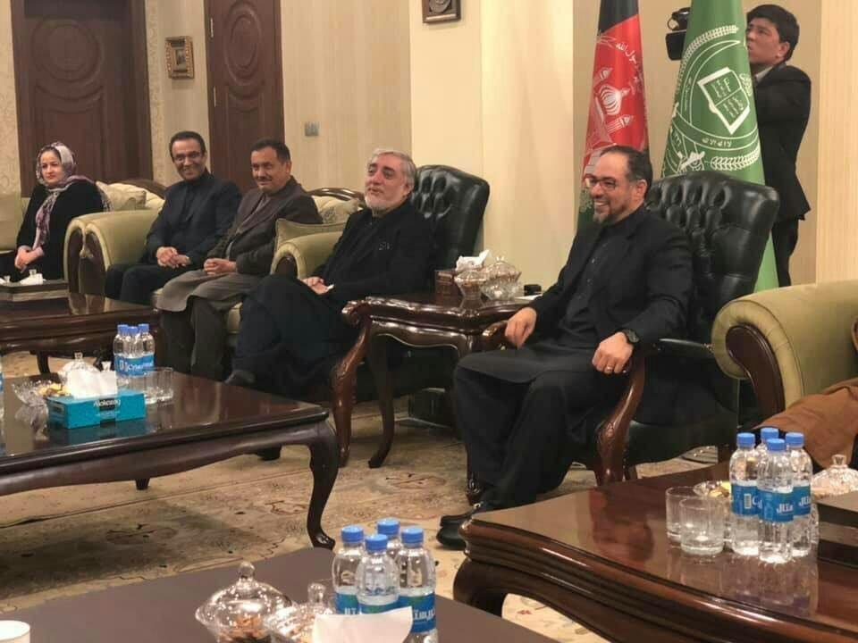 عبدالله1 - توافق عبدالله عبدالله، جنرال دوستم و خلیلی تأیید شد
