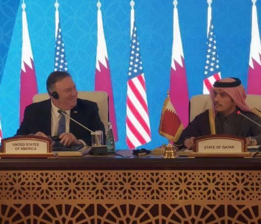 مایک پومپیو 2 - تصاویر/ سفر مایک پومپیو به قطر