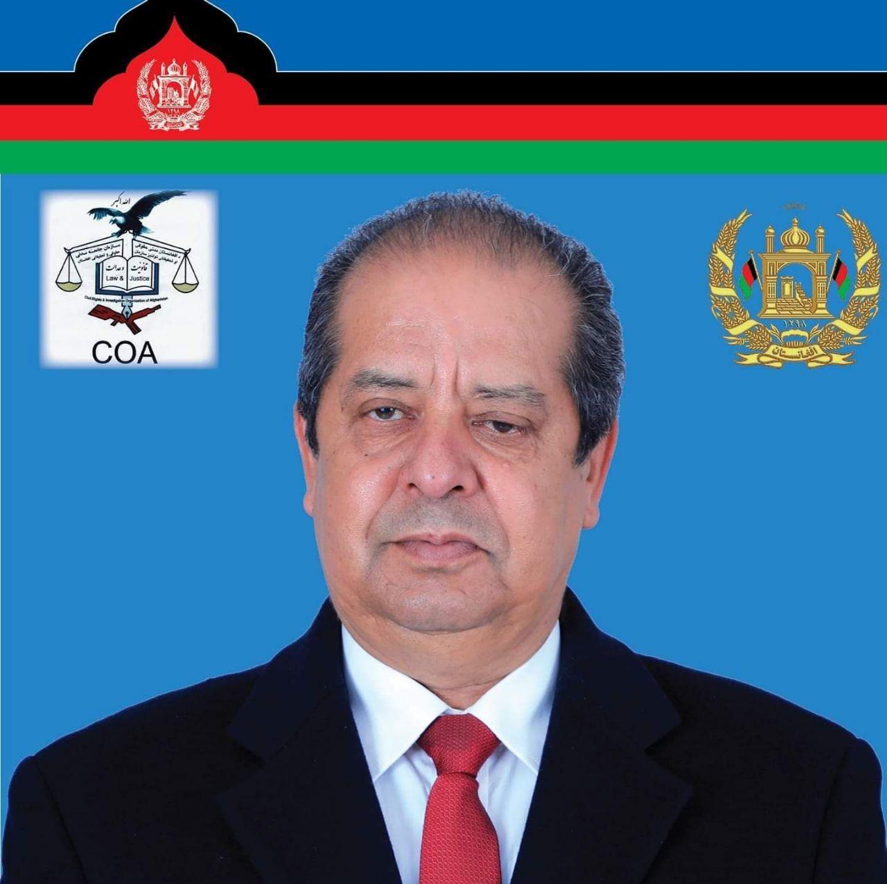 محمد حکیم تورسن  - شعار جالب محمد حکیم تورسن نامزد ریاست جمهوری