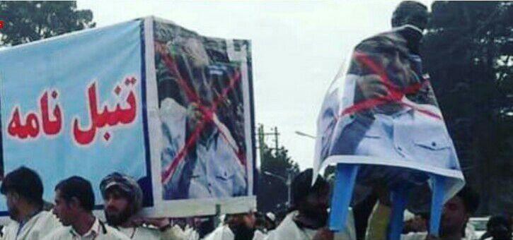 هرات2 1 - تصاویر/ جوانان کفن پوش خواهان برکناری شاروال هرات شدند