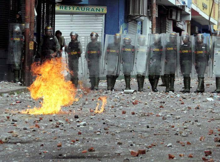 ونزویلا 1 - تصاویر/ آشوب در ونزویلا