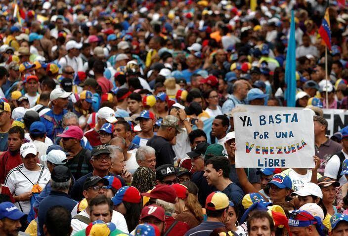 ونزویلا 11 - تصاویر/ آشوب در ونزویلا