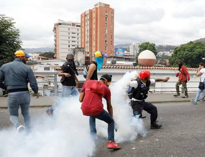 ونزویلا 13 - تصاویر/ آشوب در ونزویلا