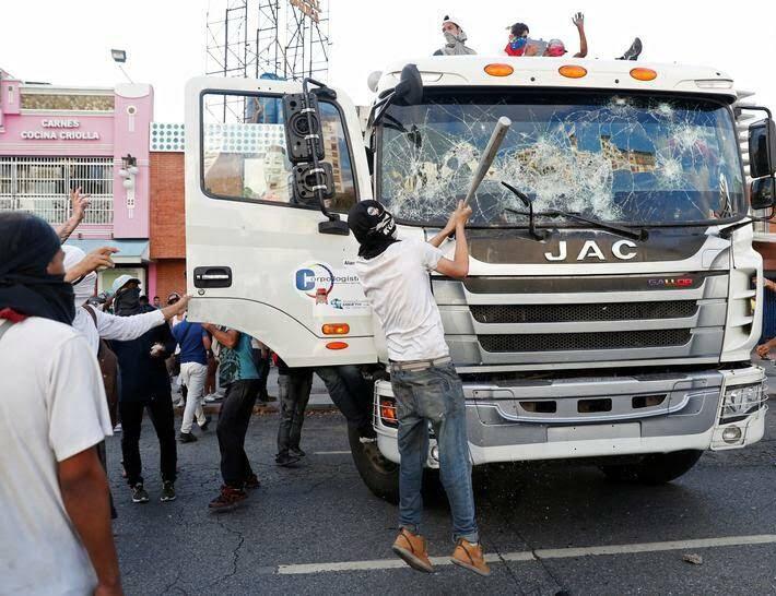 ونزویلا 3 - تصاویر/ آشوب در ونزویلا