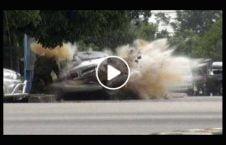 ویدیو انفجار موتر بم پاکستان 226x145 - ویدیو/ انفجار موتر بم گذاری شده در پاکستان