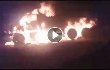 ویدیو انهدام کاروان اردوی ملی طالبان 226x145 - ویدیو/ لحظه انهدام کاروان اردوی ملی توسط طالبان