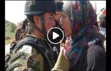 ویدیو دفاع مادر فلسطینی فرزندش 226x145 - ویدیو/ دفاع شجاعانه یک مادر فلسطینی از فرزندش