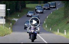 ویدیو محافظان صدراعظم جاپان شاهراه 226x145 - ویدیو/ حرکت عجیب محافظان صدراعظم جاپان در شاهراه