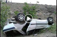 ویدیو نجات دریور خواب تصادف وحشتناک 226x145 - ویدیو/ نجات معجزه آسای دریور خواب آلود از تصادف وحشتناک