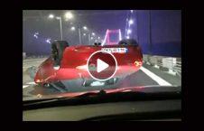 ویدیو نجات معجزه راننده شاهراه ترکیه 226x145 - ویدیو/ نجات معجزه آسای یک راننده در شاهراه ترکیه