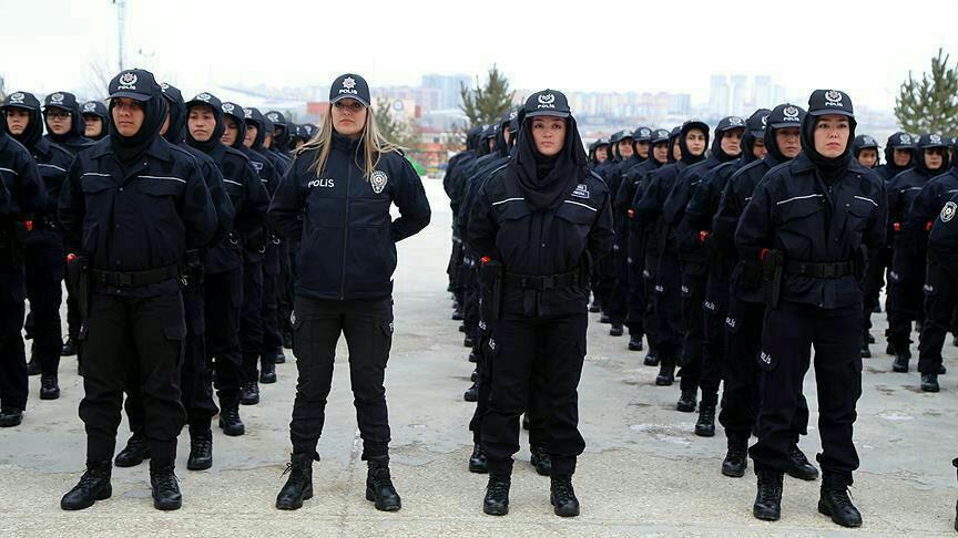 پولیس زن - آموزش 168 پولیس زن افغان در سیواس ترکیه