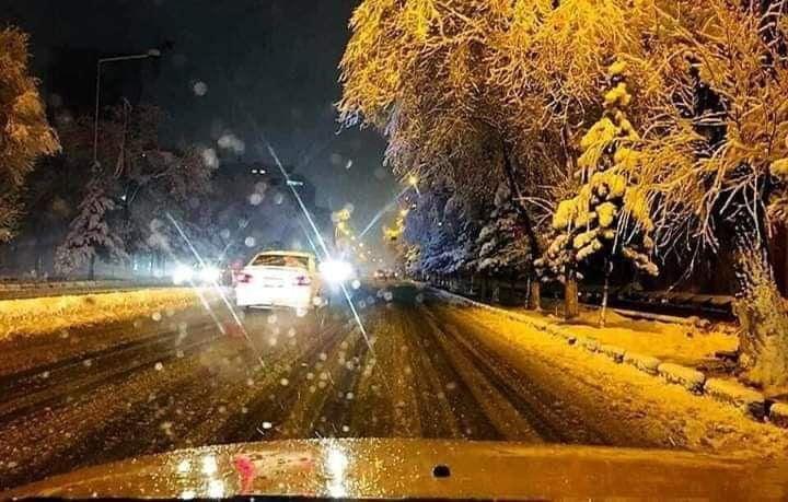 کابل برف 1 - تصاویر/ اولین شب برفی کابل