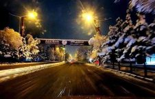 کابل برف 2 226x145 - تصاویر/ اولین شب برفی کابل