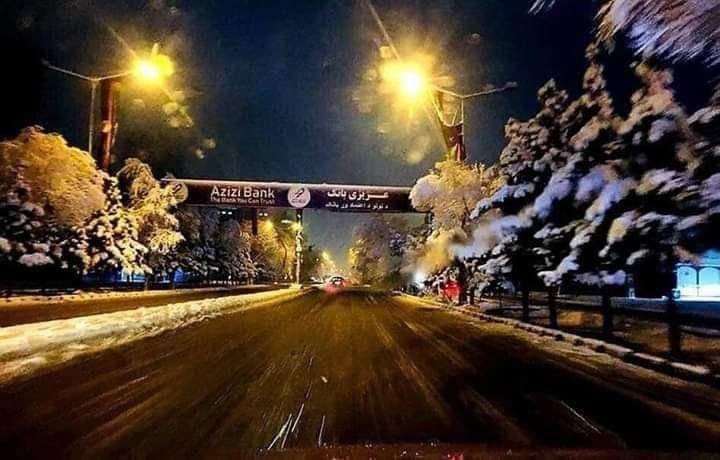 کابل برف 2 - تصاویر/ اولین شب برفی کابل