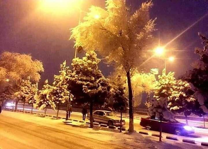 کابل برف 3 - تصاویر/ اولین شب برفی کابل