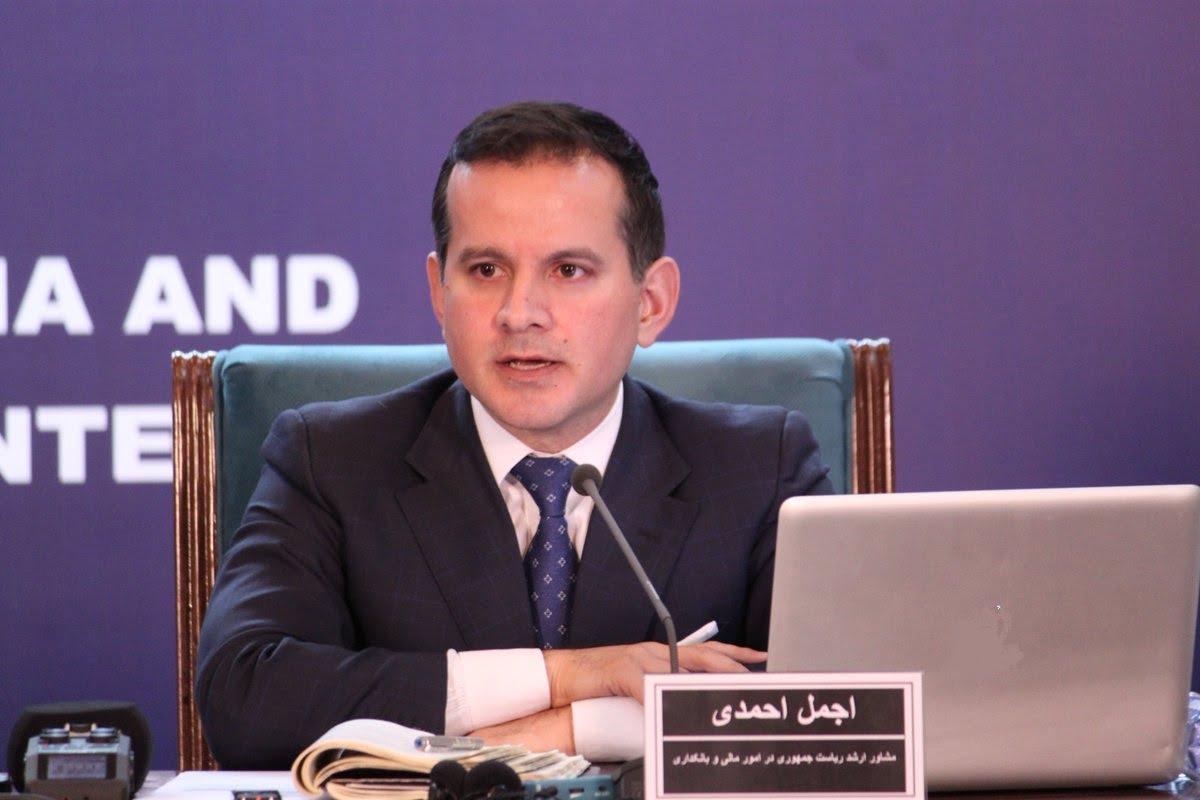 اجمل احمدی - تعین اجمل احمدی به حیث مشاور ارشد رییس جمهور غنی