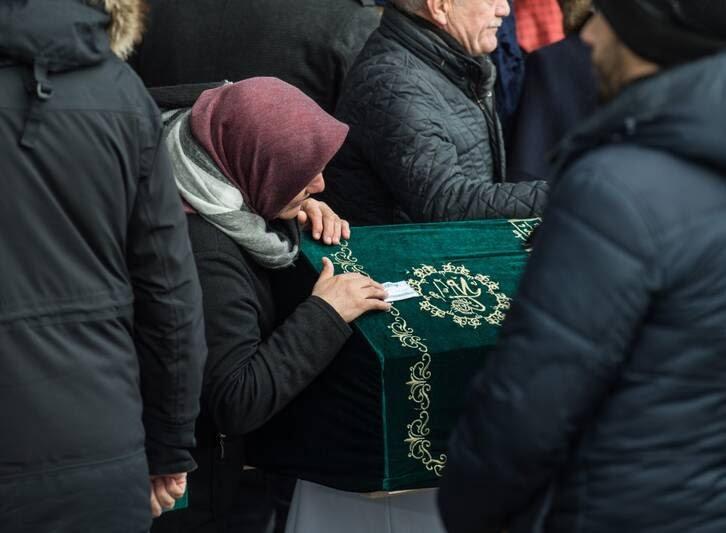 اردوغان 2 - تصاویر/ رییس جمهور ترکیه زیر تابوت