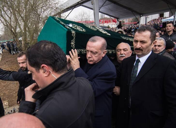 اردوغان 7 - تصاویر/ رییس جمهور ترکیه زیر تابوت