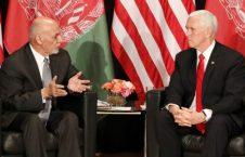 اشرف غنی مایک پنس 226x145 - دیدار رییس جمهور غنی با معاون رییس جمهور ایالات متحده امریکا
