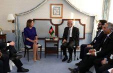اشرف غنی نانسی پلوسی 226x145 - دیدار رییس جمهور غنی با رییس کانگرس امریکا