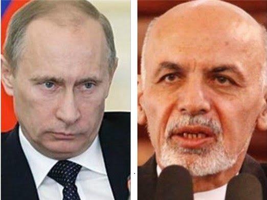 اشرف غنی پوتین - شکایت رسمی اشرف غنی از پوتین