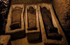 اطفال مومیایی 226x145 - کشف 12 طفل مومیایی شده 2300 ساله در مصر + تصاویر